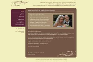 esküvői weboldal Székesfehérvár