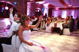 esküvői játékok az ifjú pár részére